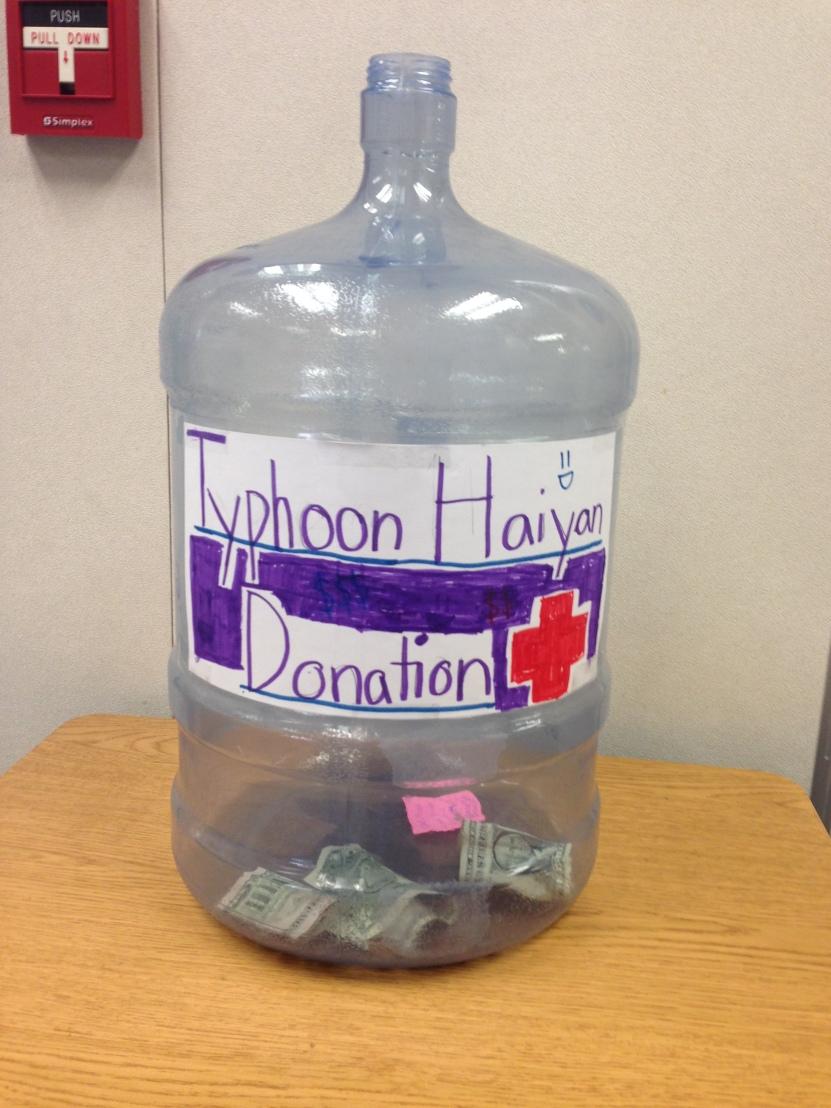 Typhoon Haiyan Donation