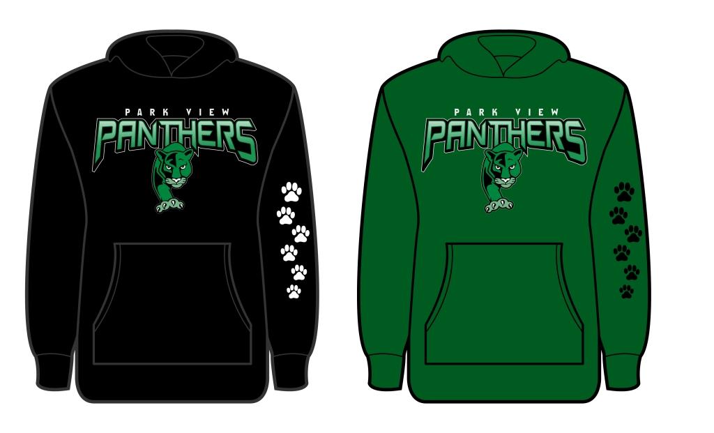PV Panther Tracks Hoodie ArtProof