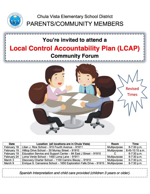 LCAP Meetings